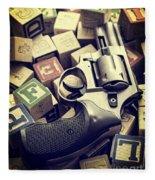154 Bullets In 5 Minutes Fleece Blanket