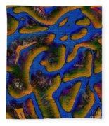 1541 Abstract Thought Fleece Blanket
