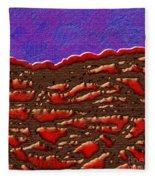 1551 Abstract Thought Fleece Blanket