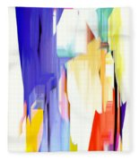 Abstract Series Iv Fleece Blanket