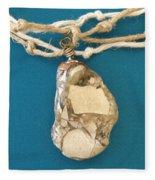 Aphrodite Urania Necklace Fleece Blanket