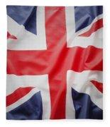 British Flag 23 Fleece Blanket