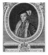Edward Vi (1537-1553) Fleece Blanket