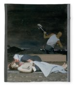 16. Jesus Is Buried / From The Passion Of Christ - A Gay Vision Fleece Blanket