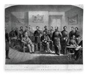 Lee's Surrender, 1865 Fleece Blanket