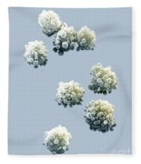 Lymphocytes Undergoing Apoptosis Fleece Blanket