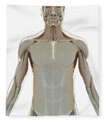 The Muscle System Fleece Blanket