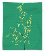 Trees Of Life Fleece Blanket
