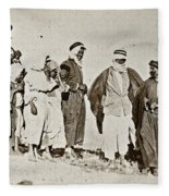 Wwi Refugees, 1919 Fleece Blanket