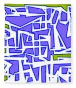 1623 Abstract Thought Fleece Blanket