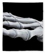 Foot Bones Fleece Blanket