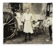 Hine Home Industry, 1912 Fleece Blanket