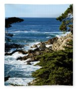 17 Mile Drive Iv Fleece Blanket