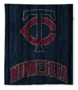 Minnesota Twins Fleece Blanket