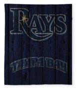 Tampa Bay Rays Fleece Blanket
