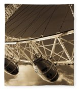 The London Eye Fleece Blanket