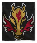 Calgary Flames Fleece Blanket