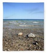 Lake Huron Fleece Blanket