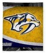 Nashville Predators Fleece Blanket