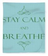 181- Breathe Fleece Blanket