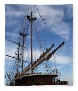 1812 Tall Ships Peacemaker Fleece Blanket