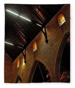 1865 - St. Jude's Church  - Interior 2 Fleece Blanket