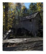 1868 Cable Mill At Cades Cove Tennessee Fleece Blanket
