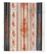 18th Century Thermometer-barometer Fleece Blanket