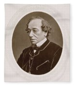 Benjamin Disraeli (1804-1881) Fleece Blanket