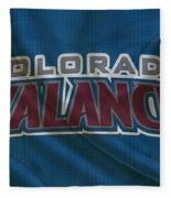 Colorado Avalanche Fleece Blanket