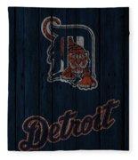 Detroit Tigers Fleece Blanket