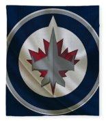 Winnipeg Jets Fleece Blanket