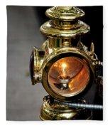 1907 Stanley Steamer - Sidelight Fleece Blanket