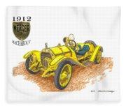 1911 1912 Mercer Raceabout R 35 Fleece Blanket