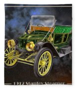 Stanley Steamer Fleece Blanket