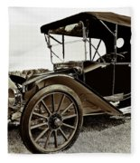 1913 Argo Electric Model B Roadster Coffee Fleece Blanket