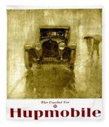 1918 - Hupmobile Automobile Advertisement - Color Fleece Blanket