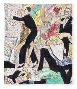 1920s Party 2 Fleece Blanket