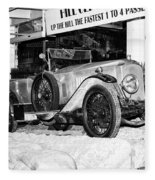 1921 Vauxhall 30/98e Fleece Blanket