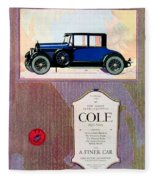 1922 - Cole 890 - Advertisement - Color Fleece Blanket
