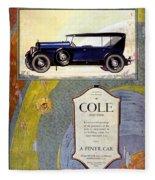 1923 - Cole 890 - Advertisement - Color Fleece Blanket