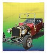 1923  Ford T Bucket  Fleece Blanket