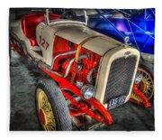1927 Chevy Dirt Racer Fleece Blanket