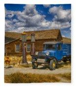 1927 Dodge Braham Bodie Ca Color Img 7299 Fleece Blanket