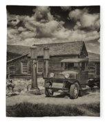 1927 Dodge Braham Bodie Ca Sepia Img 7299 Fleece Blanket
