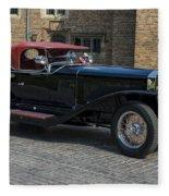 1927 Isotta Fraschini Tipo 8a Roadster Fleece Blanket