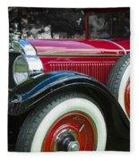 1928 Hupmobile Century Model E4 4 Door Sedan Fleece Blanket