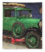 1929 Ford Model A By Liane Wright Fleece Blanket