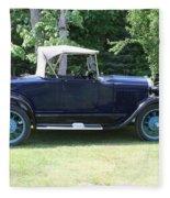 1929 Model-a Roadster 4 Fleece Blanket
