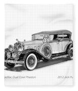 1931 Cadillac Phaeton Fleece Blanket